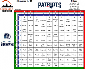 super bowl 2015 squares template - super bowl 2015 per quarter new calendar template site